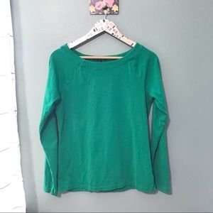 Lauren Ralph Lauren Green Long Sleeve Size XL